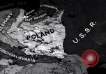 Image of Map Poland, 1937, second 5 stock footage video 65675038990