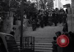 Image of Wedding Party on steps Tel Aviv Palestine, 1945, second 3 stock footage video 65675038995