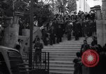 Image of Wedding Party on steps Tel Aviv Palestine, 1945, second 6 stock footage video 65675038995
