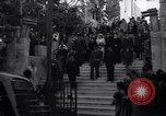 Image of Wedding Party on steps Tel Aviv Palestine, 1945, second 11 stock footage video 65675038995