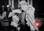 Image of Jewish prayers at synagogue Tel Aviv Palestine, 1945, second 5 stock footage video 65675038996