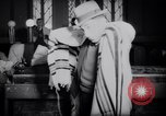 Image of Jewish prayers at synagogue Tel Aviv Palestine, 1945, second 6 stock footage video 65675038996