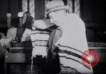 Image of Jewish prayers at synagogue Tel Aviv Palestine, 1945, second 7 stock footage video 65675038996