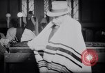 Image of Jewish prayers at synagogue Tel Aviv Palestine, 1945, second 9 stock footage video 65675038996