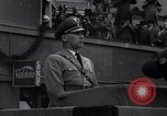 Image of Nazi Sturmabteilung leader addresses gathering for fallen soldiers Germany, 1933, second 6 stock footage video 65675039017
