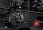 Image of Nazi Sturmabteilung leader addresses gathering for fallen soldiers Germany, 1933, second 8 stock footage video 65675039017