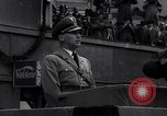 Image of Nazi Sturmabteilung leader addresses gathering for fallen soldiers Germany, 1933, second 9 stock footage video 65675039017