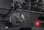 Image of Nazi Sturmabteilung leader addresses gathering for fallen soldiers Germany, 1933, second 10 stock footage video 65675039017