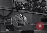 Image of Nazi Sturmabteilung leader addresses gathering for fallen soldiers Germany, 1933, second 12 stock footage video 65675039017
