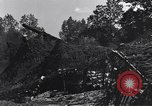 Image of 155 millimeter Long Tom rifles Mortain France, 1944, second 11 stock footage video 65675039025