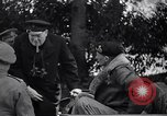 Image of Winston Churchill soon after Normandy invasion France, 1944, second 4 stock footage video 65675039029