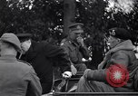 Image of Winston Churchill soon after Normandy invasion France, 1944, second 6 stock footage video 65675039029