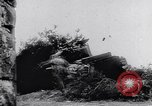 Image of German antiaircraft batteries battle Allied aircraft France, 1944, second 2 stock footage video 65675039034