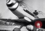 Image of German fighter plane France, 1944, second 2 stock footage video 65675039044