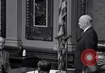 Image of President Eisenhower Washington DC USA, 1956, second 4 stock footage video 65675039054