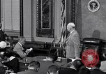 Image of President Eisenhower Washington DC USA, 1956, second 2 stock footage video 65675039056