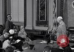Image of President Eisenhower Washington DC USA, 1956, second 6 stock footage video 65675039056