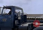 Image of semi tractor U-Tapao Royal Thai Air Force Base Thailand, 1969, second 7 stock footage video 65675039065