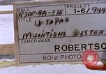 Image of Operation Arc Light U-Tapao Royal Thai Air Force Base Thailand, 1969, second 2 stock footage video 65675039082