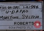Image of B-52 F plane U-Tapao Royal Thai Air Force Base Thailand, 1969, second 5 stock footage video 65675039083