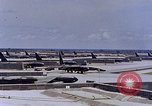 Image of B-52 F planes U-Tapao Royal Thai Air Force Base Thailand, 1969, second 6 stock footage video 65675039086