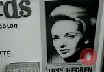 Image of Tippi Hedren Albany New York USA, 1963, second 10 stock footage video 65675039099