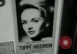 Image of Tippi Hedren Albany New York USA, 1963, second 11 stock footage video 65675039099