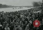 Image of collegiate boat race London England United Kingdom, 1963, second 7 stock footage video 65675039100