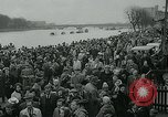 Image of collegiate boat race London England United Kingdom, 1963, second 8 stock footage video 65675039100