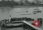 Image of collegiate boat race London England United Kingdom, 1963, second 9 stock footage video 65675039100