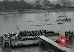 Image of collegiate boat race London England United Kingdom, 1963, second 11 stock footage video 65675039100