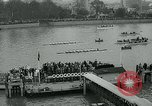 Image of collegiate boat race London England United Kingdom, 1963, second 12 stock footage video 65675039100