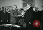 Image of Harry Truman Washington DC USA, 1945, second 10 stock footage video 65675039101