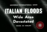 Image of floods in Sardinia Sardinia Italy, 1963, second 2 stock footage video 65675039103