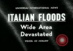 Image of floods in Sardinia Sardinia Italy, 1963, second 3 stock footage video 65675039103