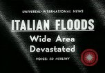 Image of floods in Sardinia Sardinia Italy, 1963, second 4 stock footage video 65675039103