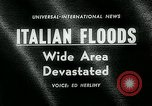 Image of floods in Sardinia Sardinia Italy, 1963, second 5 stock footage video 65675039103