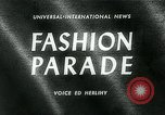 Image of model parade London England United Kingdom, 1963, second 5 stock footage video 65675039104