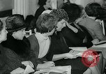 Image of model parade London England United Kingdom, 1963, second 10 stock footage video 65675039104
