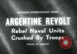 Image of Naval and Marine units Argentina, 1963, second 1 stock footage video 65675039121