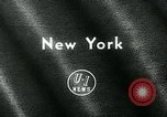 Image of Athletic Club games New York United States USA, 1963, second 5 stock footage video 65675039128