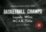 Image of College Basketball Tournament Louisville Kentucky USA, 1963, second 1 stock footage video 65675039138