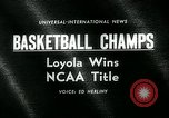 Image of College Basketball Tournament Louisville Kentucky USA, 1963, second 2 stock footage video 65675039138