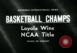 Image of College Basketball Tournament Louisville Kentucky USA, 1963, second 3 stock footage video 65675039138