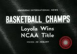 Image of College Basketball Tournament Louisville Kentucky USA, 1963, second 5 stock footage video 65675039138
