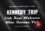 Image of John Kennedy Berlin Germany, 1963, second 1 stock footage video 65675039159