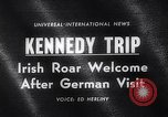 Image of John Kennedy Berlin Germany, 1963, second 2 stock footage video 65675039159