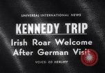 Image of John Kennedy Berlin Germany, 1963, second 4 stock footage video 65675039159