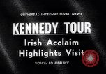 Image of John Kennedy Ireland, 1963, second 2 stock footage video 65675039163