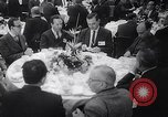 Image of luncheon at Universal City California United States USA, 1963, second 11 stock footage video 65675039166